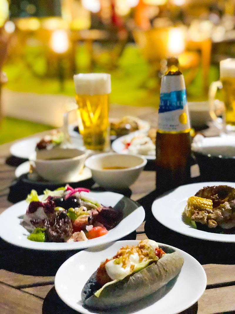 料理はどれも絶品!ハイアットリージェンシー大阪のビアガーデンが人気の理由に納得!